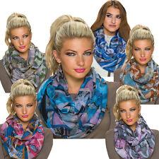Elegante Damen-Schals mehrfarbige