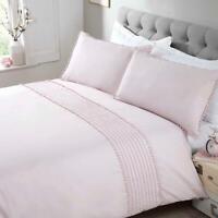 Pink Duvet Covers Pom Poms Trim Modern Blush Quilt Cover Bedding Sets