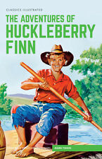 Classics Illustrated Hardback The Adventures of Huckleberry Finn (Mark Twain)