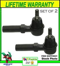*NEW* SET Heavy Duty ES3181RL Steering Tie Rod End Front Outer