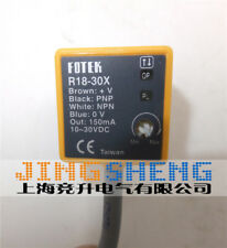 Original FOTEK R18-30X photoelectric switch sensor