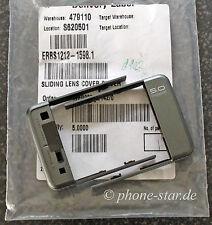 ORIGINALE Sony Ericsson c902 fotocamera COPERCHIO a scorrimento slide LENS COVER SILVER NUOVO