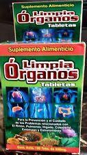 """Limpia Organos """"Complete Organ Detox"""" Hígado Estreñimiento Colesterol Riñones"""