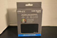 PNY CARD READER USB 3.0 HIGH SPEED  P-CRHSB3-BX NEW