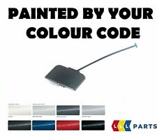 BMW E46 SALOON TOURING FRONT TOW HOOK EYE COVER PAINTED BY YOUR COLOUR CODE