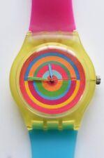 Candy Target watch - Retro 80s Designer Wristwatch