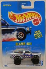 Hot Wheels c.1992 #258 Chevy Blazer 4x4 Rare BLACK HUB Wheels Chevrolet S10