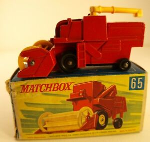 Matchbox N°65 Combine Harvester IN Box