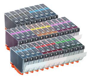 INK FOR CANON CLI8 CLI-8 PRINTER PRO-9000 PRO-9000 MARK II 32PK COMBO