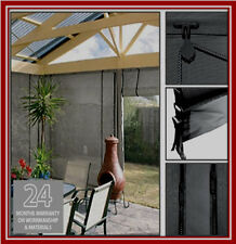 NEW! 270 x 240 Ash Mesh Shade Screen Filter Blind Backyard Outdoor Verandah
