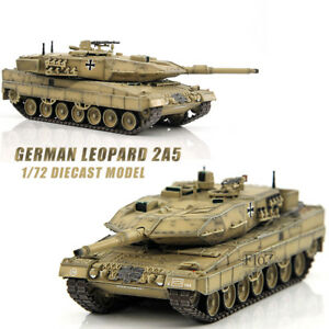 German Leopard 2a5 1/72 Scale Diecast Model Finished Tank Collection Hot Gift