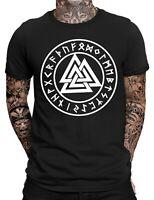 Valknut T-Shirt Fun Shirt Odin Wikinger Thor Walhalla Walküren Freya alte Götter