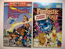Fantastic Four Annual #24 & #25 Marvel Comics