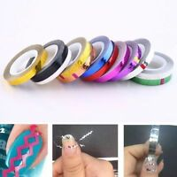 Mixed Colors Rolls Striping Tape Line DIY Nail Art Tips Decoration Sticker Hot
