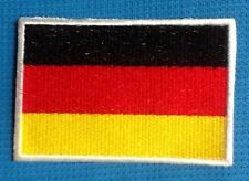 GERMANY GERMAN DEUTSCHLAND NATIONAL COUNTRY FLAG BADGE IRON SEW ON PATCH EUROPE