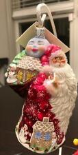 New ListingPatricia Breen Handblown Glass Santa Ornament For Jessica Nieman Marcus 2005 Nwt