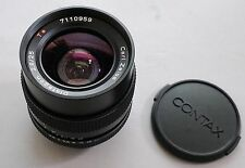 CONTAX Carl Zeiss Distagon 25/2.8 MMG Made in Germany Camera Lens C/Y Mount