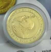 2014 GOLD PLATED CAMEO COIN MEDAL - John Paul II - PROOF Certificate Included
