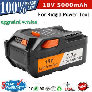 5.0AH 18V Li-ion Battery For AEG L1830R L1815R B1820R B1814G Ridgid R840083 top