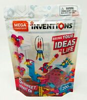 Mega Construx Inventions Candy Brick Building Set FWP25 200 Pieces Ages 5+
