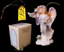 "Roman Seraphim Angel Ornament Gina Statue Sculpture Figurine Decor 4"" Tall"