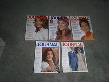 5 Ladies Home JOURNAL Magazines 1971,1972