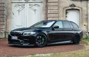 "19"" ROHANA RFX11 GLOSS BLACK CONCAVE WHEELS FOR BMW F10 525i 535i 550i"