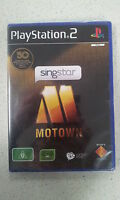 Singstar Sing Star Motown Playstation 2 PS2 Brand New