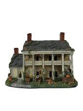 Fort Mifflin - America's Most Haunted Village Resin House Halloween Lights Up