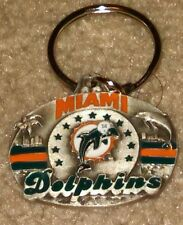 NFL Miami Dolphins New Pewter Keychain Free Ship
