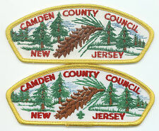 LOT OF 2 CSP'S - CAMDEN COUNTY COUNCIL - T-1 & T-2B - MERGED IN 1998