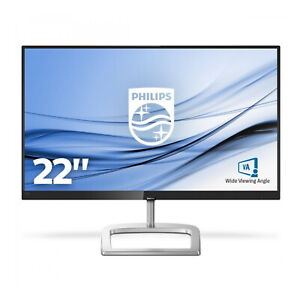 "Philips 226E9QHAB/00 21.5"" LCD Monitor Full HD Low Blue Mode  Black/Silver"