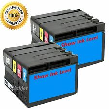 8pk 932XL 933XL Compatible Ink For Officejet 6100 6600 6700 (SHOW INK LEVEL)