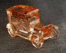 Ford Model T Circa 1925 inspired figurine Cidar colored glass