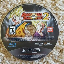 Dragon Ball: Raging Blast 2 (Sony PlayStation 3, 2010) PS3 Disc Only