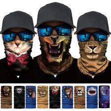 Motorcycle Biker Neck Tube Balaclava Face Mask Cover Bandana Wristband Headband