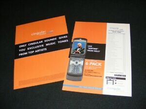 CINGULAR Wireless magazine clippings print ads with Nelly & Katy Rose