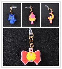 4pcs Sailor Moon 3.5mm Phone Dust Plug Anti Earphone Jack Plug smartphone