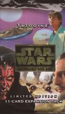 Star Wars CCG -  Tatooine Booster Pack Factory Sealed 1 pack