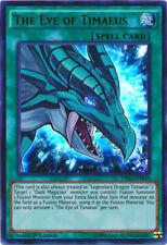 1x The Eye of Timaeus-DRL3-EN045 - Ultra Poco común - 1st edición casi nuevo Yugioh! Dragon