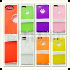 iPhone 6 Plus Cover Case Gel Case With Kick Stand Holder Cover Silicon Case 5.5