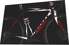 RIDLEY X-Night Disc Ultegra HDB 2017 Frame Sticker / Decal Set