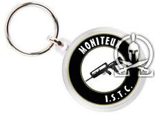 Porte clés - BREVET MONITEUR ISTC - armée de terre FAMAS TIR félin combat AF