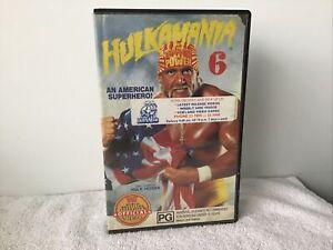 WWF WWE Wrestling Hulkamania 6 Hulk Hogan VHS Great Price See Our huge Range!