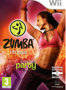 Wii - Zumba Fitness Game Only Immaculate Free Fast Postage