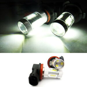 2x SAMSUNG 15 SMD LED H8 for 07-15 JAGUAR Projector Corner Light 30W White Bulb