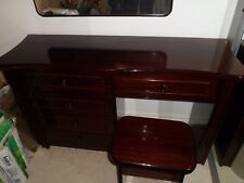 Dress furniture set - table with 5 drawers, chair and mirror, very high quality