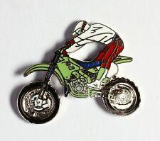 Moto de cross verte