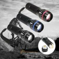 Portable CREE Q3 LED Flashlight Camping Cycling Light Lamp 3 Modes Torch Outdoor