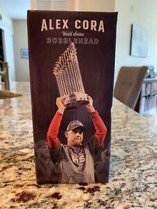 Alex Cora World Series Bobblehead Boston Red Sox Bobble Head NIB Coca Cola